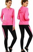 Active Wear Sets For Women -workout Clothes Gym Wear Tracksuitsyoga Jogging Trac