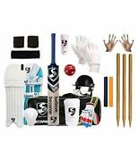 Sg Full Cricket Kit With Bag And With Spordy Stumps Ideal For 12 Year Child