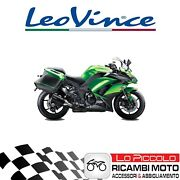 Pair Terminals Leovince Factory S Carbon Kawasaki Z 1000 Sx 2020 Approved