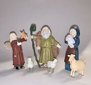 Dreamers Nativity Lang And Wise 1997 Angels And Nativities By Sue Dreamer