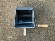 Star Aggregate Metal Cement Spreader Hand Held, Brothers Zagman- Easy To Use New