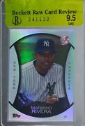 2010 Topps Legends Chrome Cereal Wal-mart Platinum Mariano Rivera Pc7 Hof