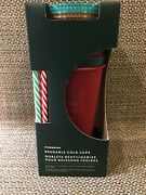 Starbucks Set Stack 5 Color Cups Tumblers Christmas Holiday-last One Great Gift