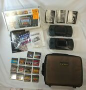 Atari Lynx Console Lot 1 Tested Working System 13 Games Carrying Case Extras