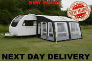 Up New Model Kampa Dual Pitch Roof Rally Pro Air 390 Grande Caravan Porch Awning