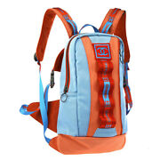 Sports Line Hi Summer Cc Backpack Bag Red Blue Canvas Suede S08257b
