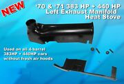 1970 1971 383 And 440 Hp Exhaust Manifold Heat Stove / Riser Mopar Dodge Plymouth