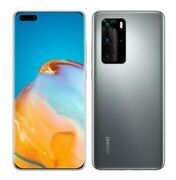New Huawei P40 Pro 6.58 Gsm Unlocked 50mp Smartphone Els-n04   Silver Frost