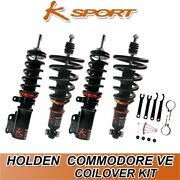 Ksport Coilovers Fully Adjustable Coilover Suspension Fit Holden Ve Commodore