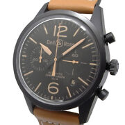 Bell And Ross Br126 Vintage Chronograph Heritage Br126-94 Automatic Black Dial