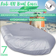 Premium Waterproof Anti-uv Inflatable Boat Cover Tender Dinghy Cover Outdoor New