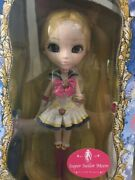Super Sailor Moon Limited Edition With School Uniform Pullip Groove Rare