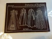 Patterns Of Fashion Menandwomen Clothes C1560-1620 By Arnold, Janet Softcover