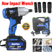 High Torque Powerful Cordless Impact Wrench Car Tire Lug Nut Removal Emergency