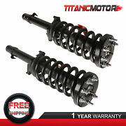 Pair Left Right Side Front Complete Struts Assembly For 2008-2012 Accord Ex Lx