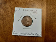 1955 Wheat Lincoln Penny With Errorand039s