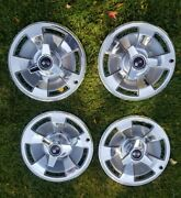 1966 Corvette Original Hub Caps Hubcaps Wheel Covers Gm With New Spinners