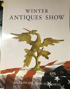1976 Winter Antiques Show Catalog 7th Regiment Armory Nyc