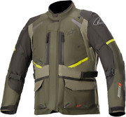 Alpinestars Andes V3 Drystar Jacket Small Green 3207521-619-s