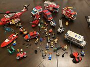 Lego Police Fire Rescue Sets Lot 60023 7206 60001 60043 4208 60002 60000 ++