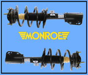 2 Suspension Strut And Coil Spring Assembly Front L And R Monroe Pair/gas