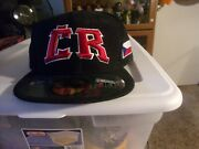 Cr World Baseball Classic Fitted Hat Size Man 71/2 All Sewn By New Era