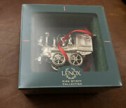 Genuine Lenox Kirk Stieff Collection - Pewter Locomotive Train Ornament With Box