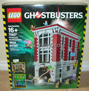 Lego 75827 Ghostbusters Firehouse Headquarters 4634 Pcs Retired 1st Edition