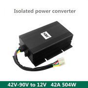 42v-90v To 12v 42a 504w Isolated Power Converter Dc-dc Isolated Step-down Module