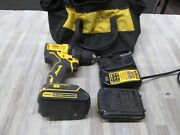 Dewalt Dcd708c2 20v Max Brushless Cordless Drill Driver W/ 2battery Andcharger