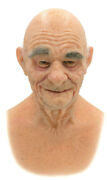Sebastian Hand Made, Silicone Mask Halloween, Pro High Quality, Old Man, New