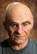 Frank Hand Made, Silicone Mask Halloween, High Quality, Old Man, New