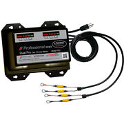 Dual Pro Ps2 Professional Series Battery Charger 30a 2-15a-banks 12v/24v