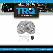 Trq Rear Brake Rotor And Ceramic Pad Pair Set Kit And 1154200072 For Mercedes