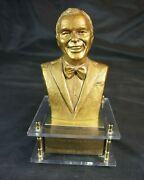 Frank Sinatra 40th Anniversary Gold Statue Music Box Only 500 1979
