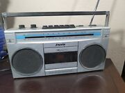Rare Vintage Nuvox Am/fm Radio - Battery Operated And Electric - Korea Cx1550