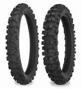 Shinko 524/525 Series Front And Rear Tires 60/100-14 And 90/100-14 87-4323/87-4329