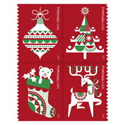 Usps New Holiday Delights Booklet Of 20