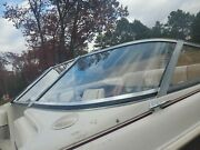 Port Side Curved Glass Windshield Panel Only Off 1995 Larson 194 Sei Br