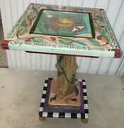 Amazing 1999 Sticks Square 18 X 28 End Table/coffee Table