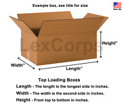 20x10x10 Shipping Boxes Lc 25 Pack