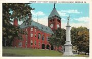Cameron County Court House And Soldiers Monument Emporium Pa