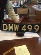 Vintage Original European Rear Truck Cab Tail Light 21 1/2 By 7 Inches Very Good