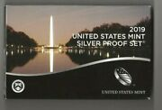 2019 S 10-piece Silver Proof Set No W-minted Lincoln