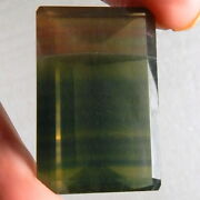 101ct Vvs Green Red Dual Color Change Fluorite Natural Mined Unheated Argentina