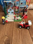 Playmobil City Action 5169 Fire Practice With Quad - Boxed