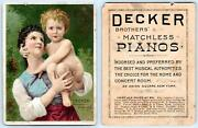 Lot/12 Victorian Trade Cards Advertising Pianos And Organsfischernewmandecker5