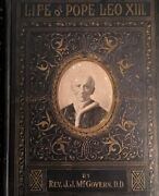 The Life And Life-work Of Pope Loe Xiii, By Rev. James J. Mcgovern, 1903. Offici