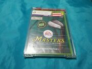 Tiger Woods Pga Tour 13 – Masters Collector's Edition Xbox 360, 2012 New