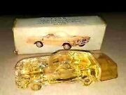 1969 Ford Mustang Mach 1 Avon Decanter After Shave 3.4 Oz Nib. Never Used Sealed